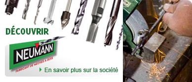 Découvrir Neumann : outils bois, outillage PVC et alu