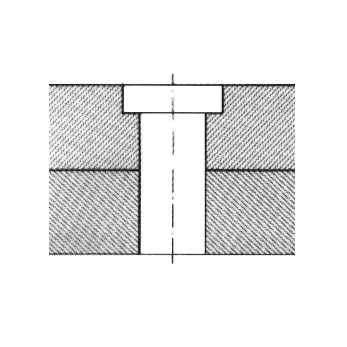 foret a percer 2 etages pour alu pvc forets acier au cobalt 5 code s rie 301. Black Bedroom Furniture Sets. Home Design Ideas