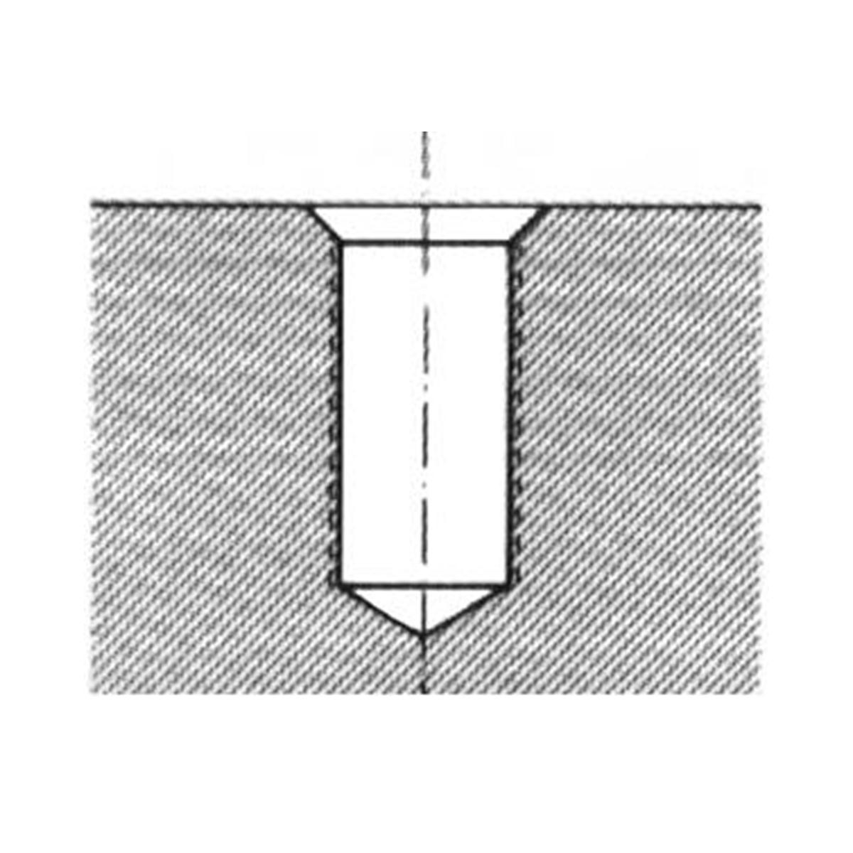 foret a percer 2 etages pour alu pvc forets acier au cobalt 5 acier au cobalt 5 code. Black Bedroom Furniture Sets. Home Design Ideas